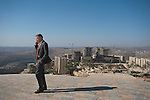 Bashar al-Masri, a Palestinian businessman building the new city of Rawabi in the West Bank.<br /> <br /> Photo by Ahikam Seri