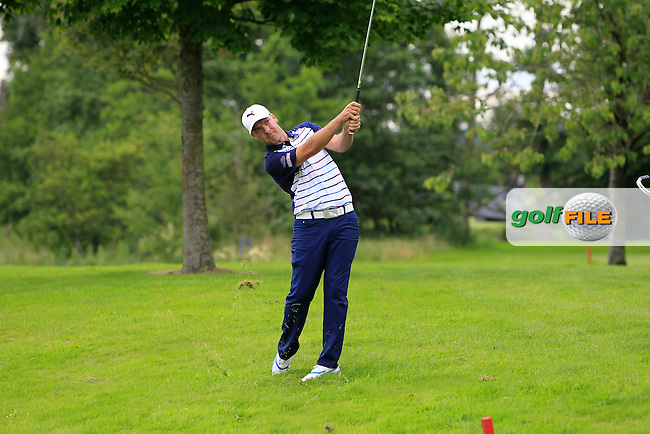 Ian Ellis (ENG) on the 15th fairway during Round 2 of the Northern Ireland Open in Association with Sphere Global &amp; Ulster Bank at Galgorm Castle Golf Club on Friday 7th August 2015.<br /> Picture:  Thos Caffrey / www.golffile.ie