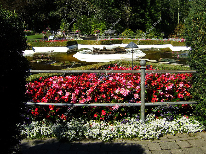 Victoria's Butchart Gardens on Friday, 9/9/11, in Victoria, BC, Canada, on Vancouver Island