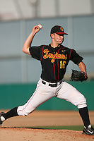 March 16 2009: Chad Smith of the USC Trojans during game against the Winthrop Eagles at Dedeaux Field in Los Angeles,CA.  Photo by Larry Goren/Four Seam Images
