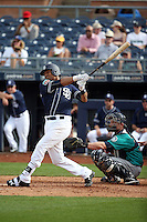 Christian Bethancourt - San Diego Padres 2016 spring training (Bill Mitchell)
