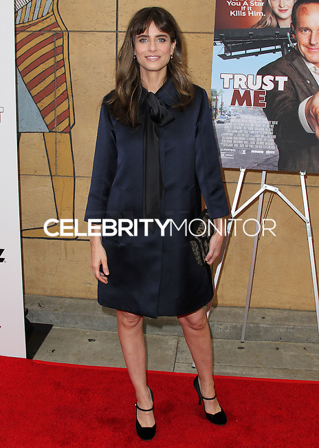"HOLLYWOOD, LOS ANGELES, CA, USA - MAY 22: Amanda Peet arrives at the Los Angeles Premiere Of ""Trust Me"" held at the Egyptian Theatre on May 22, 2014 in Hollywood, Los Angeles, California, United States. (Photo by Xavier Collin/Celebrity Monitor)"