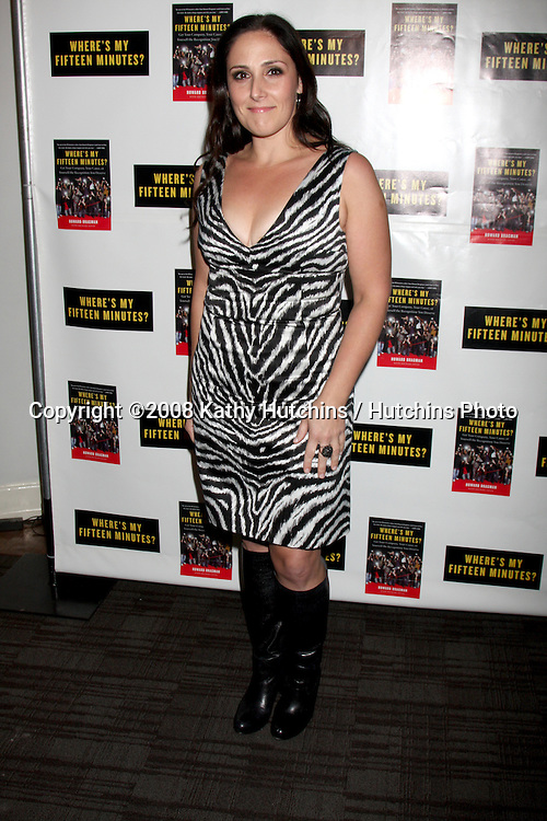 """Rikki Lake .Howard Bragman's Book Party for """"Where's My Fifteen Minutes"""" at the Chateau Marmont Hotel in West Los Angeles, CA on .January 14, 2009.©2008 Kathy Hutchins / Hutchins Photo..                ."""