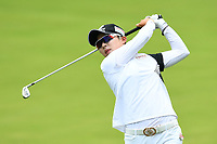SINGAPORE - MARCH 03: Hyo Joo Kim of South Korea on the 12th fairway during the final round of the HSBC Women's World Championship 2019 at Sentosa Golf Club - Tanjong Course, Singapore on March 03, 2019.<br /> .<br /> .<br /> .<br /> (Photo by: Naratip Golf Srisupab/SEALs Sports Images)<br /> .<br /> Any image use must include a mandatory credit line adjacent to the content which should read: Naratip Golf Srisupab/SEALs Sports Images