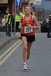 Marita Weldon taking part in the Ferdia 10k run in Ardee. Photo: Colin Bell/pressphotos.ie