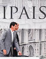 ATENCAO EDITOR: FOTO EMBARGADA PARA VEICULO INTERNACIONAL - SAO PAULO, SP, 20 DE SETEMBRO DE 2012 - COLOQUIO ARQUIDIOCESE DE SAO PAULO - O candidato do PSDB a prefeitura de Sao Paulo Jose Serra e o candidato do PT Fernando Haddad durante debate promovido pela Arquidiocese de São Paulo na tarde dessa quinta-feira, na regiao leste da capital paulista. FOTO: WILLIAM VOLCOV - BRAZIL PHOTO PRESS.