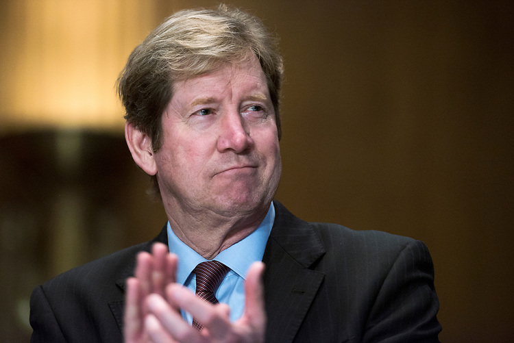 UNITED STATES - MARCH 8: Rep. Jason Lewis, R-Minn., attends the annual Minnesota Congressional Delegation Hotdish Competition in Dirksen Building, March 8, 2017. (Photo By Tom Williams/CQ Roll Call)