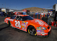 Apr 20, 2006; Phoenix, AZ, USA; Nascar Nextel Cup racer Tony Stewart driver of the (20) Home Depot Chevrolet Monte Carlo during practice for the Nextel Cup Subway Fresh 500 at Phoenix International Raceway. Mandatory Credit: Mark J. Rebilas-US PRESSWIRE Copyright © 2006 Mark J. Rebilas..