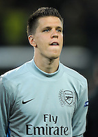 FUSSBALL   CHAMPIONS LEAGUE   SAISON 2011/2012  Borussia Dortmund - Arsenal London        13.09.2001 Torwart Wojciech SZCZESNY (Arsenal Arsenal)