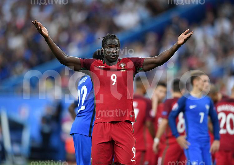 FUSSBALL EURO 2016 FINALE IN PARIS  Portugal 1-0 Frankreich     10.07.2016 JUBEL Eder (Portugal)