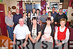 Catherine Sheehan from Dromeragh celebrated her 50th birthday in the Moorings Restaurant, Portmagee on Saturday pictured her with family, front l-r; John Sheehan, Catherine Sheehan, Ro?isi?n Sheehan, Kitty O'Connell, back l-r; Mary O'Donoghue, Andy O'Connell, Gillian O'Sullivan, Laurna O'Sullivan, Shauna Sheehan, Aoifa Sheehan, Morgan O'Sullivan, Colette O'Sullivan, Mike O'Sullivan & John Joe O'Donoghue.