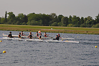 Wallingford Rowing Club Regatta 2011. Dorney..(J15A.4+).Bryanston School (308).Sir William Borlase School (309)