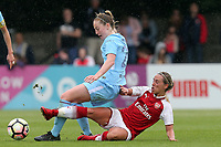 Jordan Nobbs of Arsenal Women and Keira Walsh of Manchester City Women during Arsenal Women vs Manchester City Women, FA Women's Super League FA WSL1 Football at Meadow Park on 12th May 2018