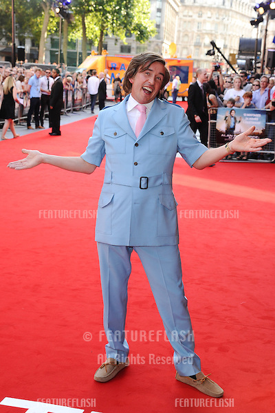 "Steve Coogan as Alan Partridge arriving for the ""Alan Partridge: Alpha Papa"" premiere at the Vue Leicester Square, London. 24/07/2013 Picture by: Steve Vas / Featureflash"