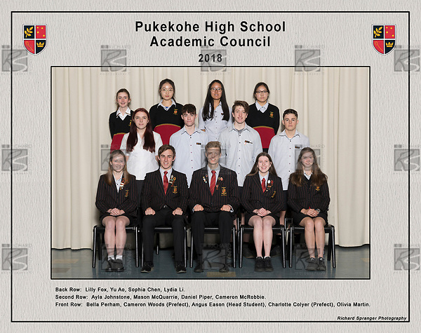181016 Pukekohe High School - Group Photos