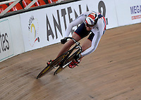 CALI – COLOMBIA – 18-01-2015: Mathew Crampton de Gran Bretaña en la prueba de Velocidad Varones en el Velodromo Alcides Nieto Patiño, sede de la III Copa Mundo UCI de Pista de Cali 2014-2015  / Mathew Crampton of Great Britain in the Men´s Sprint Race at the Alcides Nieto Patiño Velodrome, home of the III Cali Track World Cup 2014-2015 UCI. Photos: VizzorImage / Luis Ramirez / Staff.