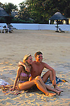 Couple At Livingstonia Hotel Beach
