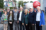 17-1-2017: Jimmy Mulvihill, Maura Gammell, Colin Fleming, Alva, Conor, Philip, Anne Marie, Noel and Joe gammell all from Killarney at the All-Ireland Football final at Croke Park on Sunday.<br /> Photo: Don MacMonagle