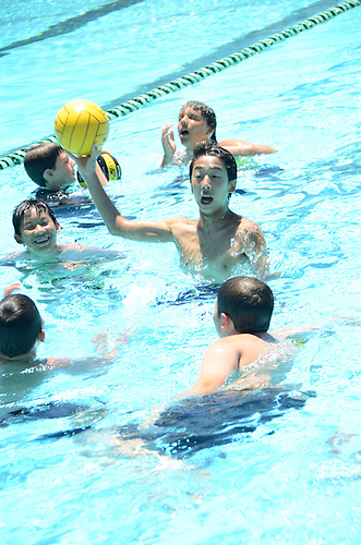 The Harker School - 2013 Summer Camps - Summer Water Polo Sports Camp - Photo by Kyle Cavallaro