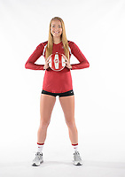 Stanford, Ca - August 10, 2017: Stanford Women's Volleyball Marketing Shoot 2017.