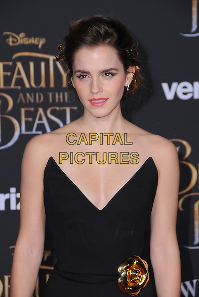 02 March 2017 - Hollywood, California - Emma Watson. Los Angeles premiere of Disney's &quot;Beauty and the Beast' held at El Capitan Theatre.  <br /> CAP/ADM/BT<br /> &copy;BT/ADM/Capital Pictures