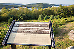 The Enfield Lookout at The Quabbin Reservoir in Massachusetts