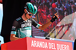 Felix Grossschartner (AUT) Bora-Hansgrohe at sign on before Stage 17 of La Vuelta 2019  running 219.6km from Aranda de Duero to Guadalajara, Spain. 11th September 2019.<br /> Picture: Dario Belingheri/BettiniPhoto | Cyclefile<br /> <br /> All photos usage must carry mandatory copyright credit (© Cyclefile | Dario Belingheri/BettiniPhoto)