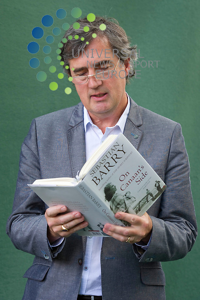 Picture:Scott Taylor Universal News And Sport (Europe) .Sebastian Barry, Man Booker Prize Longlist, at the Edinburgh Book festival, Edinburgh, Scotland, 16th August 2011..All pictures must be credited to www.universalnewsandsport.com. (Office)0844 884 51 22.