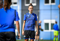 Brugge's Charlotte Laridon pictured during a female soccer game between Club Brugge Dames YLA and Racing Genk Ladies on the second matchday of the 2020 - 2021 season of Belgian Scooore Women s SuperLeague , saturday 5 th of September 2020  in Brugge , Belgium . PHOTO SPORTPIX.BE   SPP   DAVID CATRY