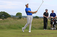 Therion Nel (RSA) on the 15th tee during Round 3 of the East of Ireland Amateur Open Championship 2018 at Co. Louth Golf Club, Baltray, Co. Louth on Monday 4th June 2018.<br /> Picture:  Thos Caffrey / Golffile<br /> <br /> All photo usage must carry mandatory copyright credit (&copy; Golffile | Thos Caffrey