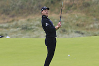 Danny Willett (ENG) misses his birdie putt on the 8th green during Sunday's Final Round of the 148th Open Championship, Royal Portrush Golf Club, Portrush, County Antrim, Northern Ireland. 21/07/2019.<br /> Picture Eoin Clarke / Golffile.ie<br /> <br /> All photo usage must carry mandatory copyright credit (© Golffile | Eoin Clarke)
