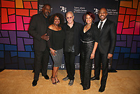 CULVER CITY, CA - OCTOBER 21: Boise Holmes, Michael Shepperd, Tracy Nicole Chapman, Yvette Cason, Randy Johnson, of Shout Sister Shout, at Providence Saint John's 75th Anniversary Gala Celebration at 3Labs in Culver City, California on October 21, 2017. Credit: Faye Sadou/MediaPunch /NortePhoto.com