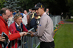 Ryder Cup..Padraig Harrington signs autographs at the K Club..Photo: Eoin Clarke/ Newsfile.