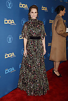 HOLLYWOOD, CA - FEBRUARY 02: Marina de Tavira  attends the 71st Annual Directors Guild Of America Awards at The Ray Dolby Ballroom at Hollywood &amp; Highland Center on February 02, 2019 in Hollywood, California.<br /> CAP/ROT/TM<br /> &copy;TM/ROT/Capital Pictures