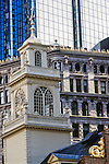 The Old State House is dwarfed by Boston's skyscrapers