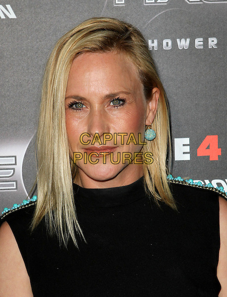 "PATRICIA ARQUETTE.""Scream 4"" Los Angeles Premiere Held At The Grauman Chinese Theatre, Hollywood, California, USA..April 11th, 2011.scre4m headshot portrait black turquoise beaded shoulders earring .CAP/ADM/KB.©Kevan Brooks/AdMedia/Capital Pictures."