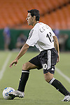 Oct 05 2007:  Christian Gomez (10)  of the D.C. United.  The MLS Kansas City Wizards tied the visiting D.C.United 1-1 at Arrowhead Stadium in Kansas City, Missouri, in a regular season league soccer match.