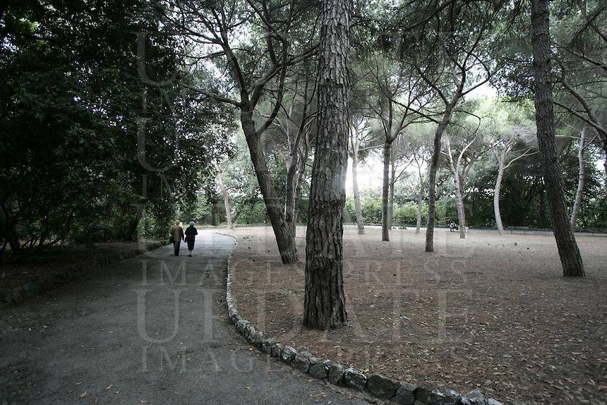 Uno scorcio di Villa Doria a Genova.<br /> View of Villa Doria in Genoa.<br /> UPDATE IMAGES PRESS/Riccardo De Luca