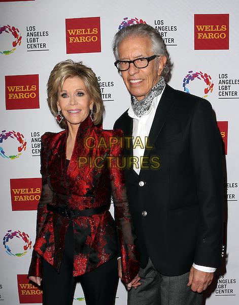 Century City, CA - November 07 Jane Fonda, Richard Perry Attending 46th Anniversary Gala Vanguard Awards - Arrivals At the Hyatt Regency Century Plaza On November 07, 2015. <br /> CAP/MPI/FS<br /> &copy;FS/MPI/Capital Pictures