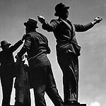 Tic Tac men at Ascot races, 1935