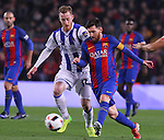 26.01.2017 Barcelona. Copa del Rey.Picture show Leo Messi in action during game between FC Barcelona against Real Sociedad at Camp Nou