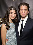 Phillipa Soo and Steven Pasquale attends 32nd Annual Lucille Lortel Awards at NYU Skirball Center on May 7, 2017 in New York City.