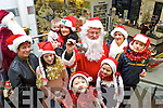 Santa arrived in Boyles Killorglin on Tuesday to launch Christmas in Killorglin alll delighted to meet the man in the red coat were Ann O'Sullivan, Nicole Moriarty, Mary Kate and Maura O'Neill, Luke Moriarty, Niamh Moriarty, Orna Eccles  and Barry Moriarty