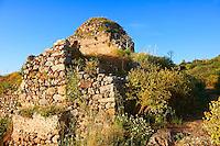 Turkish Baths of Monemvasia (  ) Byzantine Island catsle town with acropolis on the plateau.   Peloponnese, Greece