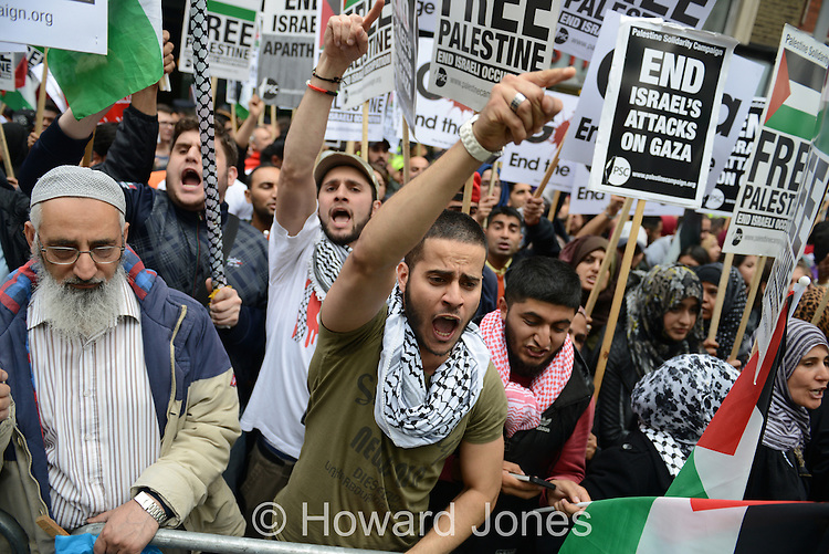 As the Israel government continues to escalate the conflict in The Gaza Strip, demonstration take place across the world in opposition.<br />
