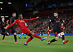 Georginio Wijnaldum of Liverpool attempts to cross the ball  past Felipe of Atletico Madrid during the UEFA Champions League match at Anfield, Liverpool. Picture date: 11th March 2020. Picture credit should read: Darren Staples/Sportimage