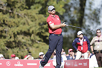 J.B. Holmes (Team USA) on the 8th tee during the Friday afternoon Fourball at the Ryder Cup, Hazeltine national Golf Club, Chaska, Minnesota, USA.  30/09/2016<br /> Picture: Golffile | Fran Caffrey<br /> <br /> <br /> All photo usage must carry mandatory copyright credit (&copy; Golffile | Fran Caffrey)