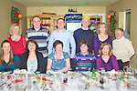 Staff from the Legal Aid Board enjoying their Christmas Party in the Kerry Coast Inn, Cahersiveen on Friday night last front l-r; Alma O'Sullivan, Mary O'Connor, Gerldine Courtney, Caroline King, Kathleen O'Sullivan, back l-r; Eileen Bowden , Mick Buckley, Mike O'Connor, Gerry Enright, Joan O'Shea, Mary Moriarty.
