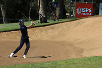 Sean Crocker (USA) in action on the 1st during Round 2 Matchplay of the ISPS Handa World Super 6 Perth at Lake Karrinyup Country Club on the Sunday 11th February 2018.<br /> Picture:  Thos Caffrey / www.golffile.ie<br /> <br /> All photo usage must carry mandatory copyright credit (&copy; Golffile | Thos Caffrey)
