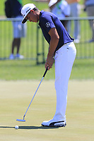 Rickie Fowler (USA) on the practice green during Friday's Round 2 of the 117th U.S. Open Championship 2017 held at Erin Hills, Erin, Wisconsin, USA. 16th June 2017.<br /> Picture: Eoin Clarke | Golffile<br /> <br /> <br /> All photos usage must carry mandatory copyright credit (&copy; Golffile | Eoin Clarke)